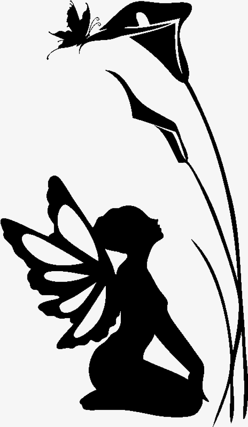 Fairy Silhouette Png Fairy Free Printable Silhouette Templates Hd Png Download 7609959 Png Images On Pngarea