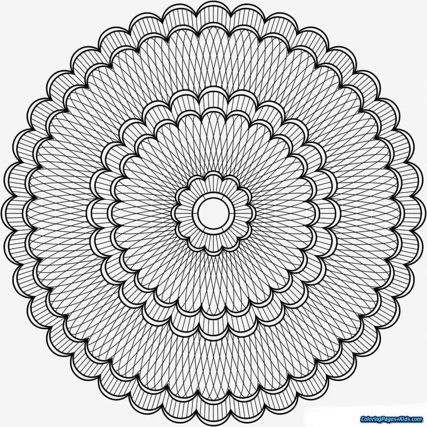 Mandalas Png - Advanced Mandala Coloring Pages Angel Level Printable, HD  Png Download (#4571322), PNG Images On PngArea