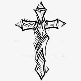 tribal png, cross tattoo designs, transparent png (#5539684), png images on  pngarea  pngarea
